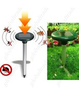 Ultrasonic Solar Power Mouse Pest Insect Repeller for Farm - $35.90