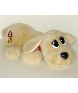 1/2 Price! Tan Golden Pound Puppies Animated Puppy 14 inch PP  - $7.00