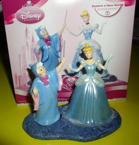 Disney Cinderella And Fairy Godmother