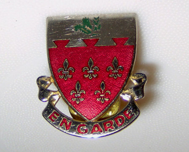 Vintage Boy Scout En Garde Engarde Army Military ? Pin
