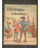 Christopher Columbus by Clara Ingram Judson HB DJ - $4.00