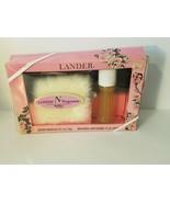 Vintage Lander Fragrance Gift Set w/ Cologne Spray Dusting Powder - NEW - $84.14