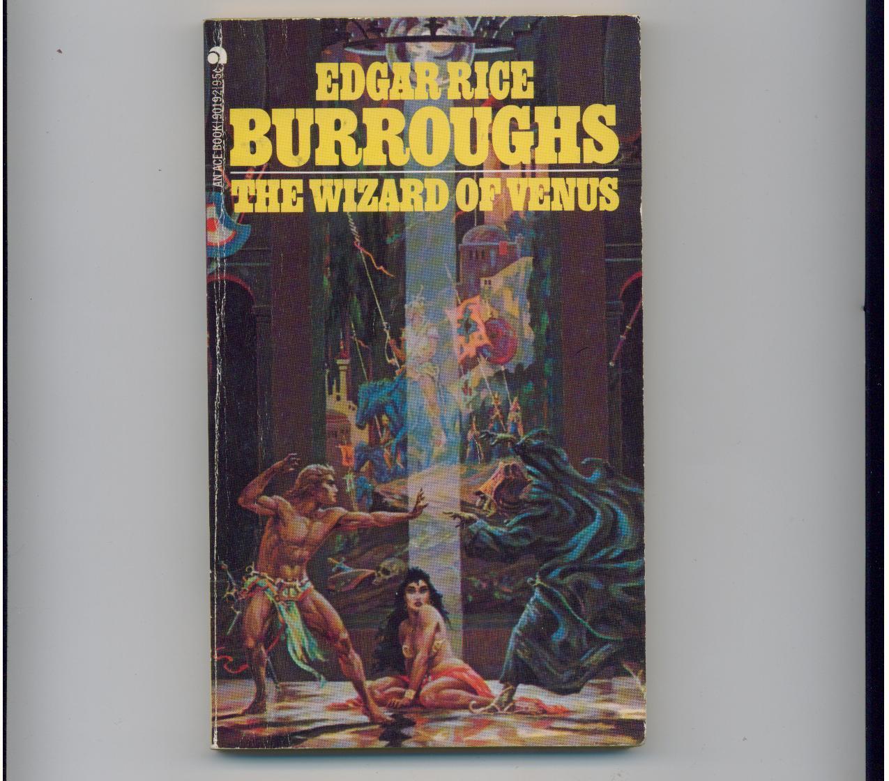 Burroughs - WIZARD OF VENUS - 1973 - 1st pb + PIRATE BLOOD
