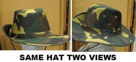 Australian Bush Camo Hat Medium - $13.50
