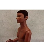 DOLLHOUSE Black Ethnic Man Naked Heidi Ott Nude wigged jointed African A... - $68.35
