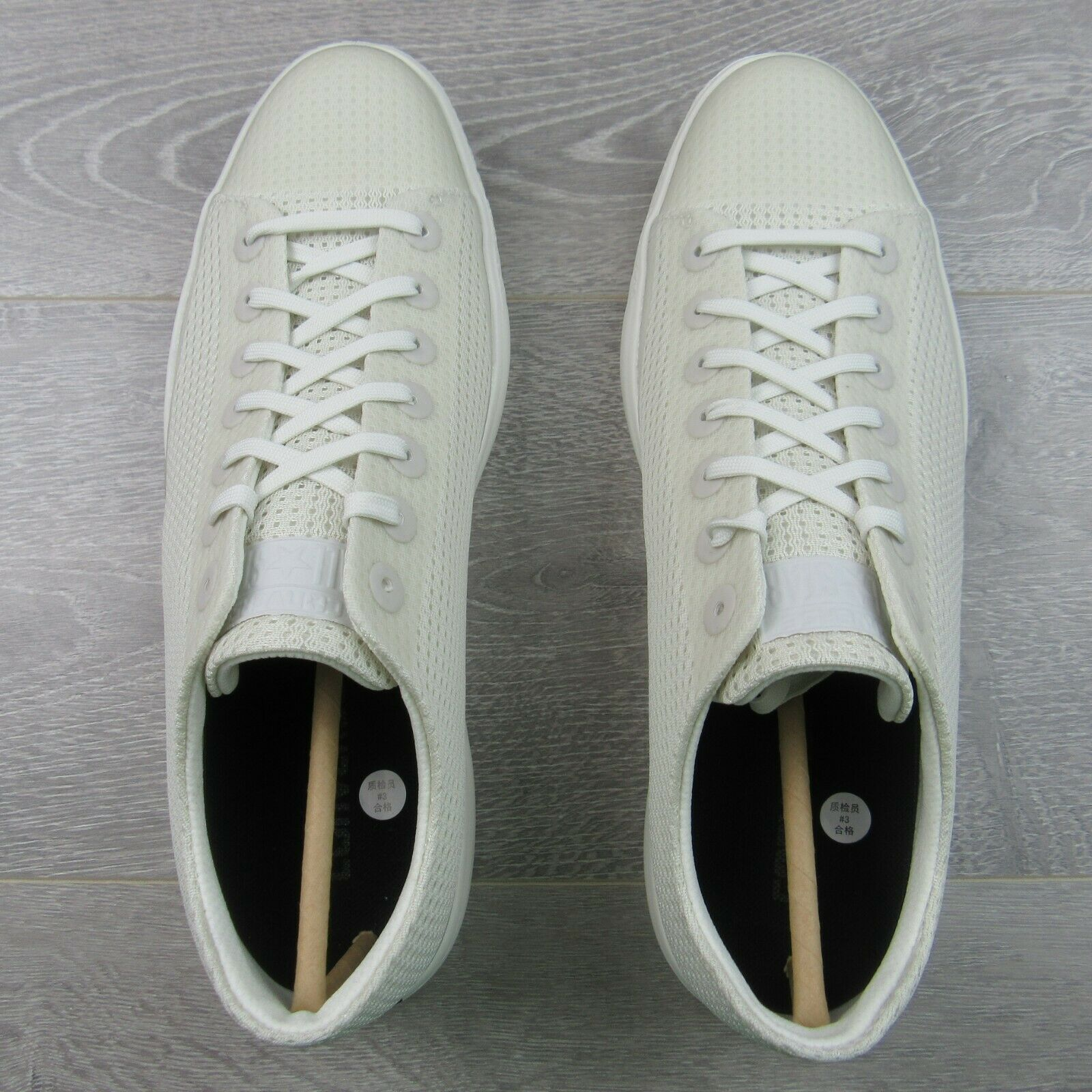 Converse CTAS Modern OX Buff White Shoes Size 9.5 Mens NEW 156652C image 8