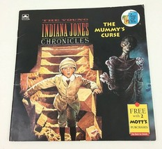 The Young Indiana Jones Chronicles The Mummys Curse Golden Paperback Boo... - $9.85