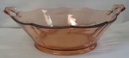 Pink depression glass bowl 3 thumb200