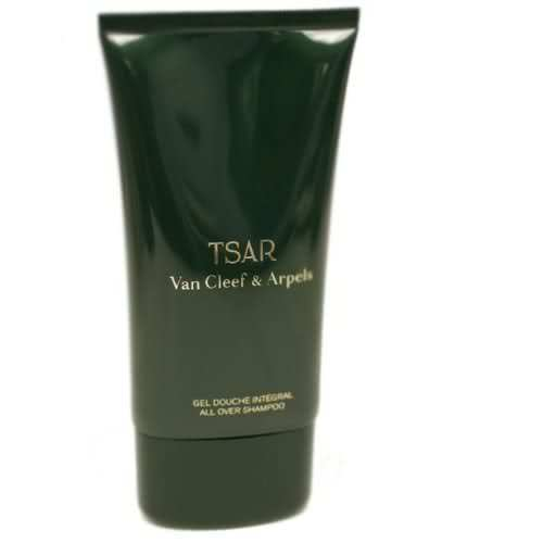 TSAR Van Cleef & Arpels ALL OVER SHAMPOO Shower Gel 5 oz MEN Perfume Cologne