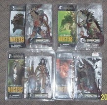Mcfarlane Monsters Series 1 Bloody Variant Action Figure Set of 4 VHTF RARE - $420.75