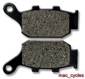 Honda Disc Brake Pads NT650/NT650V 1988-1991 & 1998-2001 Rear (1 set)