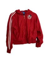 Disney Childs Jacket Size Medium Mickey Mouse Sports Most Valuable Player Red - $24.75