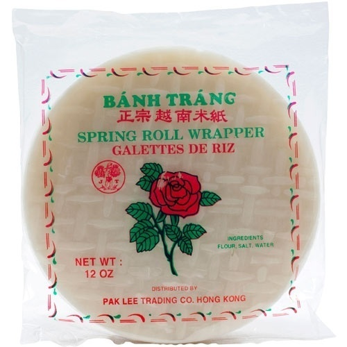 Spring Roll Wrapper - 8.25 inches - 1 bag - 12 oz