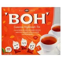 5 box Cameron Highlands Tea Boh Malaysia Plantation 500 Tea Bags Free Sh... - $46.66