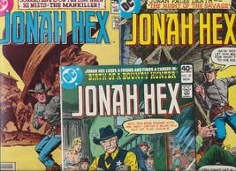 Vtg 1979 DC Western Cowboy Comics Lot Of 3 Jonah Hex # 28 30 31 Bounty Hunter - $14.85