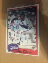 #432 Len Barker Pitcher Indians Topps Baseball Card 1981 1A - $1.90