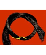 "1 Oz.  24"" Black Horse Hair, Real Horsehair - $7.88"