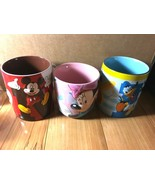 Disney Store Mickey Mouse,Minnie Mouse, Donald Duck Coffee Mug - New - $20.00