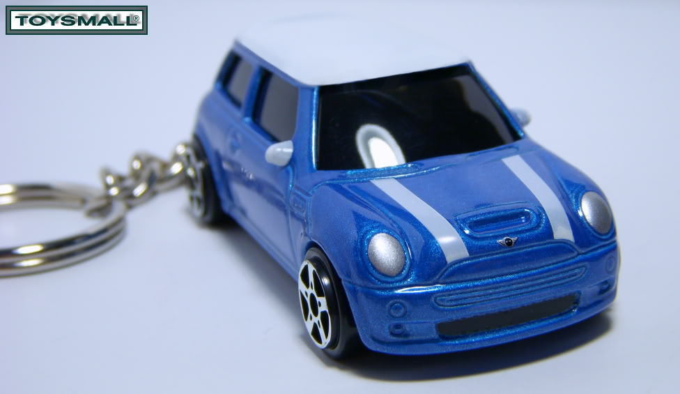KEY CHAIN 2004~2011 BLUE WHITE TOP BMW NEW MINI COOPER