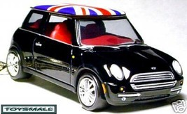 KEY CHAIN 2005~2007/2009/2010 BLACK UK FLAG MINI COOPER - $42.95
