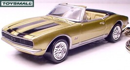 KEY CHAIN 1967~1968 GOLD CHEVY CAMARO 67/68 CONVERTIBLE - $34.95