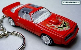 RED BANDIT 77~78~1978 PONTIAC TRANS AM KEY CHAI... - $39.95