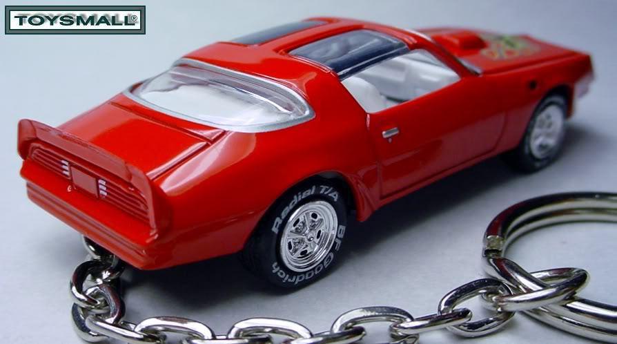 RED BANDIT 77~78~1978 PONTIAC TRANS AM KEY CHAIN RING