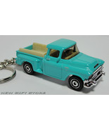 KEY CHAIN 56/56 1955/1956/1957/1958 BLUE GMC STEPSIDE PICKUP - $33.95