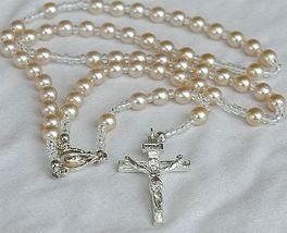 White pearls rosary b 1 thumb200