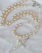 White pearls rosary b 4 thumb200