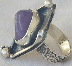 Purple glass ring 2 sr95 thumb200