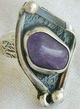 Purple glass ring 3 sr95 thumb200