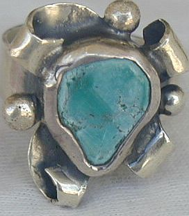 Eilat press stone ring SR94