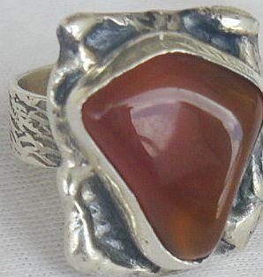 Amber ring sr62