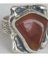 Amber ring-SR62 - $37.00