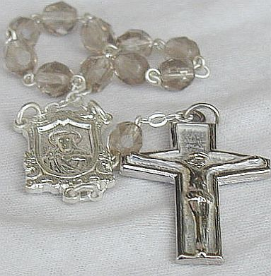 Mini diamond beads Rosary