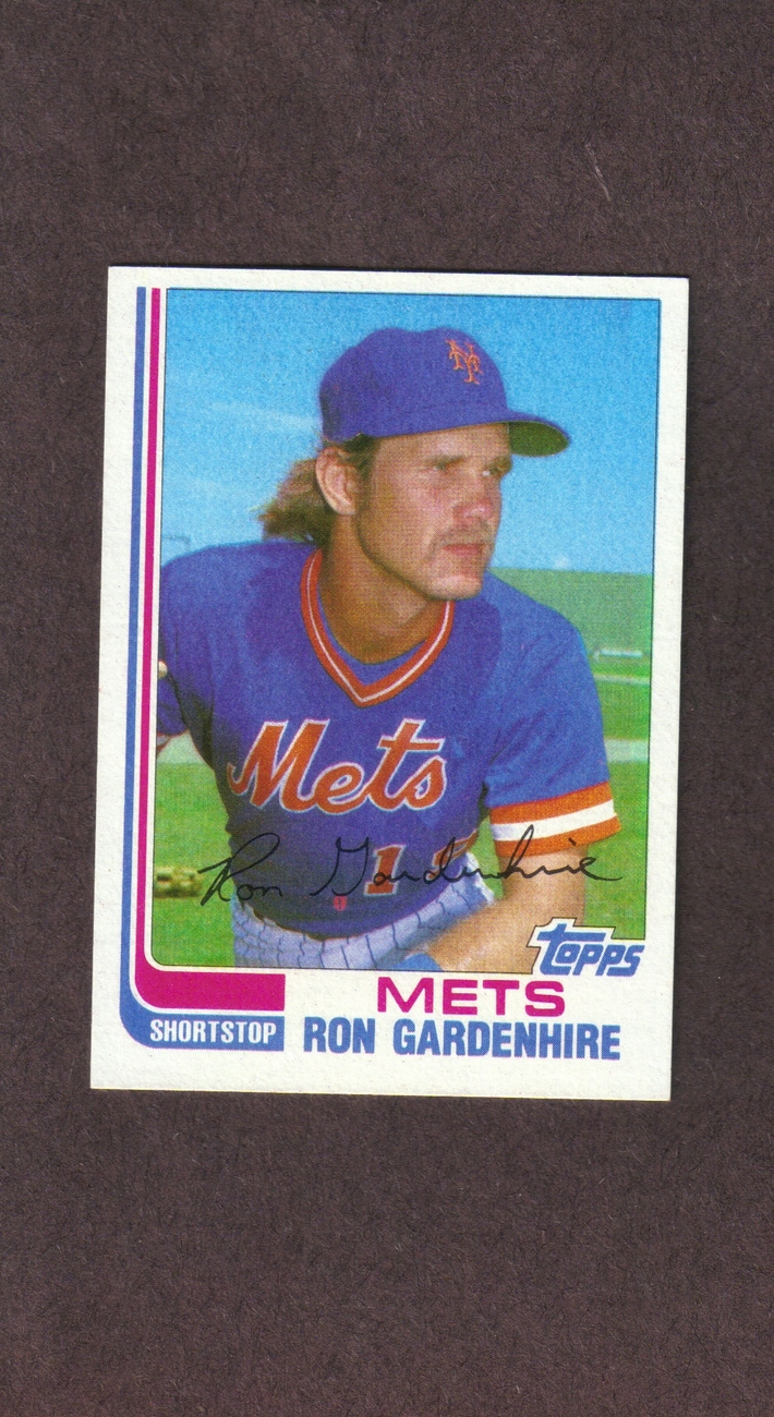 1982 Topps Traded # 39T Ron Gardenhire New York Mets