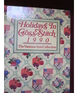 Holidays in Cross Stitch 1990 by Vanessa Ann Collection - $12.99