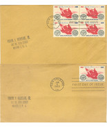 Battle of New Orleans First Day Covers single & block of 4 - $2.00