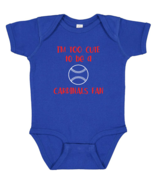 Chicago Cubs Too Cute to Be a Cardinals Fan Baby Bodysuit Toddler T-Shir... - $7.87+