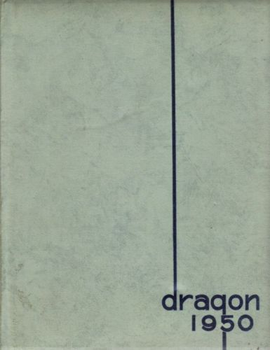 THE DRAGON,1950 YEARBOOK MOORHEAD TEACHERS COLLEGE,MN