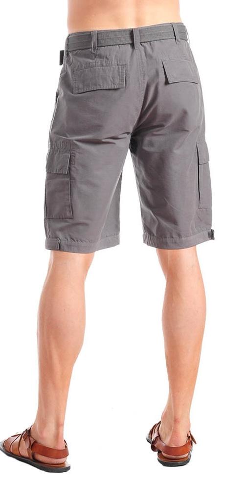 Men's Dark Grey/Gray Shorts