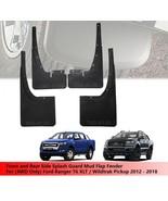 Set Splash Guard Mud Flap For (4WD) 4 Door Ford Ranger T6 Pickup 2012 - ... - $180.46