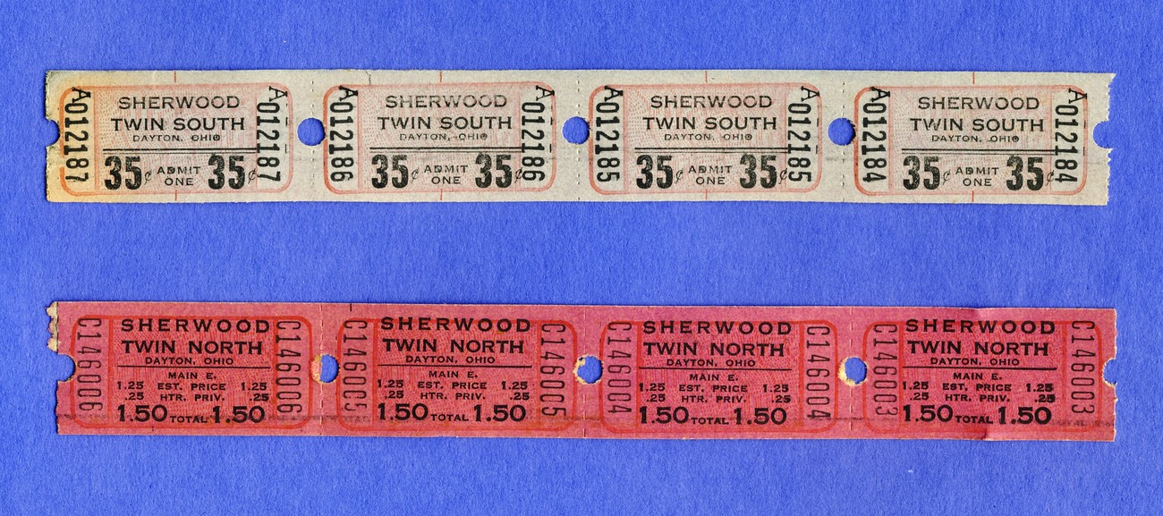 4 sherwood 35 cent  4 1.50 tickets