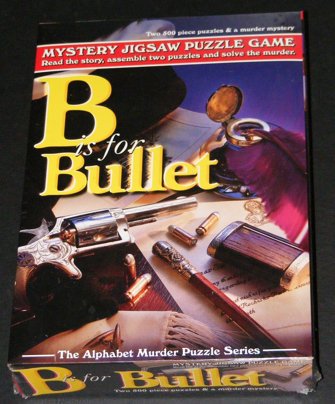 Primary image for Mystery Jigsaw Puzzle (B is for Bullet)