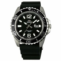 Orient Men's 42mm Black Rubber Band Steel Case Quartz Analog Watch FUNE3... - $123.75