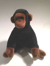 "TY Congo Beanie Babies PLUSH DOLL 6"" TALL  Black Brown - $13.81"