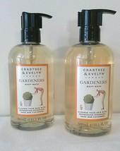 Crabtree & Evelyn London GARDENERS Body Wash 10.1oz each 2 shower gel - $44.05