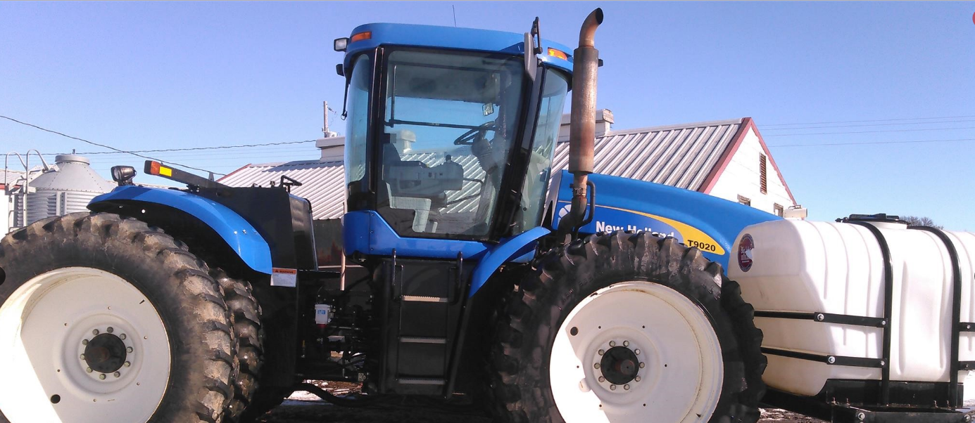 2008 NEW HOLLAND T9020 For Sale In Mclean, Nebraska 68747