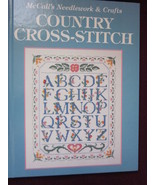 Country Cross Stitch Hardback Patterns by McCal... - $13.99